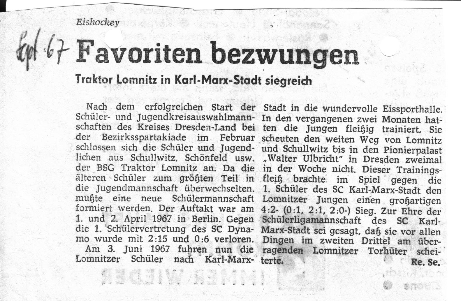 Lomnitzer Sportverein - Fanpage über den LSV